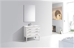 Eiffel 36'' High Gloss White Vanity