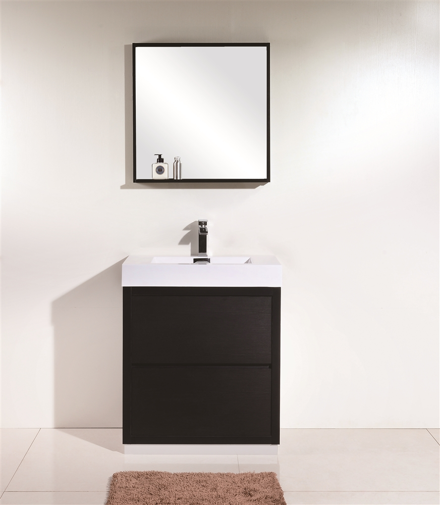 grey vanities modern bathroom finish wall mount inch vanity