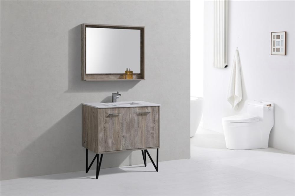 Forest 40 Modern Bathroom Vanity W Countertop
