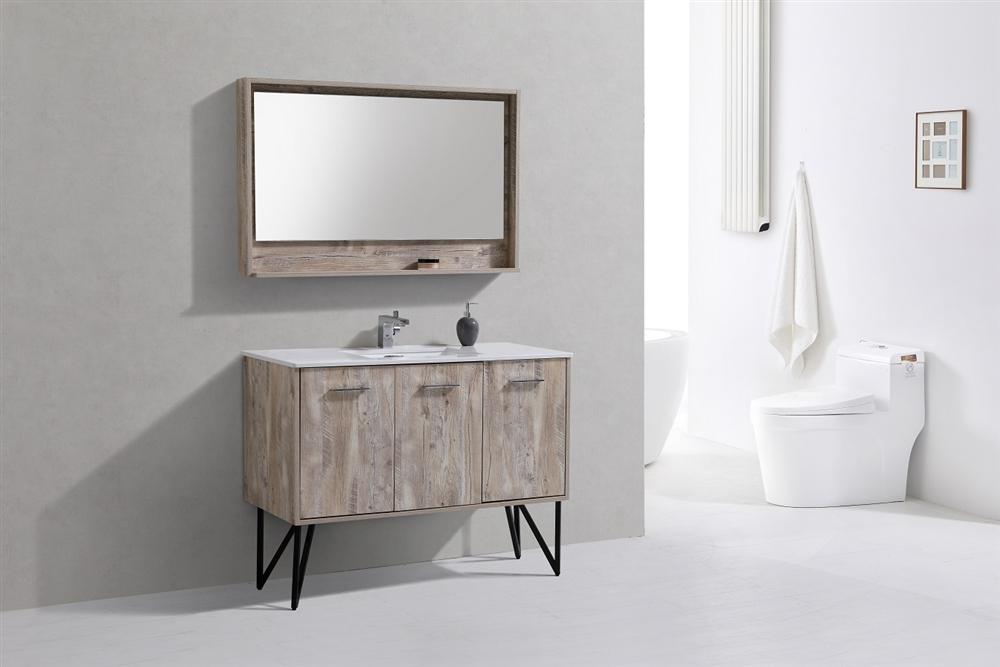 Forest 48 Modern Bathroom Vanity W Countertop