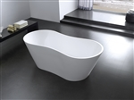 "Kube Onde 67"" Free Standing Bathtub w/ C UPC Approval"