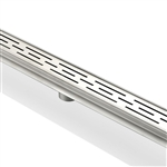 Kube 48″ Stainless Steel Linear Grate