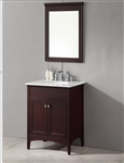 London Traditional Bathroom Vanity Set in Espresso