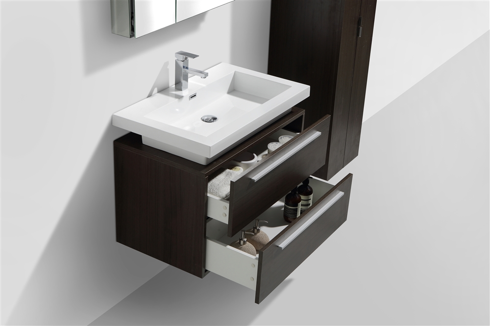 escape allure bathrooms vanity mount wall