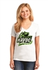 Havoc Ladies V-Neck Fan Tee