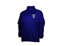 ALL-IN FC Royal Blue Quarter Zip  Sweatshirt