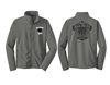 ALL-IN FC Iron Grey Full Zip Fleece
