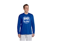 ALL-IN FC Royal Blue Long Sleeved Performance Tee