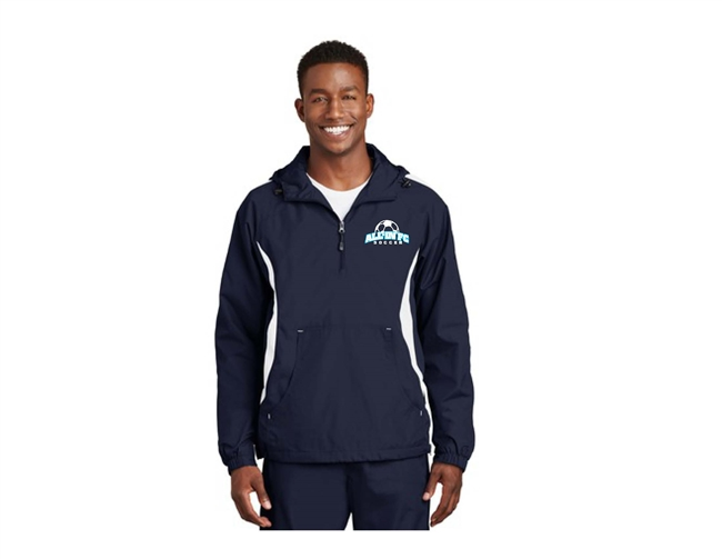 ALL-IN FC Navy/White Anorak Wind Breaker
