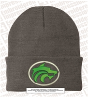 3D Buford Wolves Cuff Knit Beanie