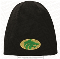 Buford Wolves Circle Logo Knit Beanie