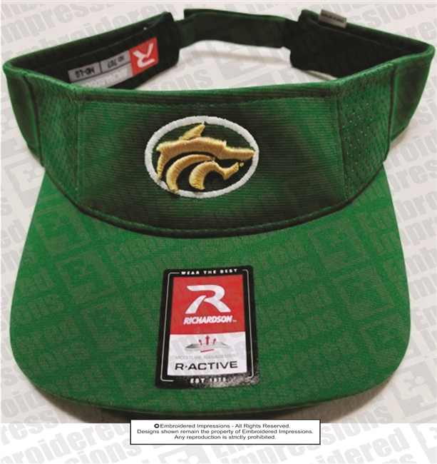 Buford Wolves 3D Visor