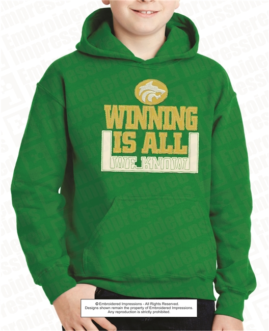 Winning Is All We Know Hoodie