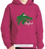 Buford Wolf Hoodie with Embroidered Bow