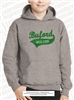 Buford Wolves Distressed Applique Hoodie