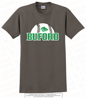 Buford Half Baseball Tee Shirt