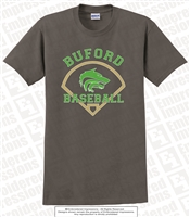 Buford Wolves Baseball Tee