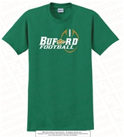 Dual Colored Buford Football Design Tee