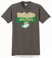 Buford Wolves One Wolf Head Tee