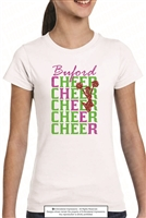 Buford Cheer Tee Shirt