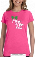 Fear the Glittered Bow Tee