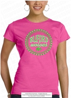 Buford Wolves Neon Sign Lights Tee