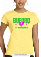 It's a Way of Life Buford Heartbeat Tee