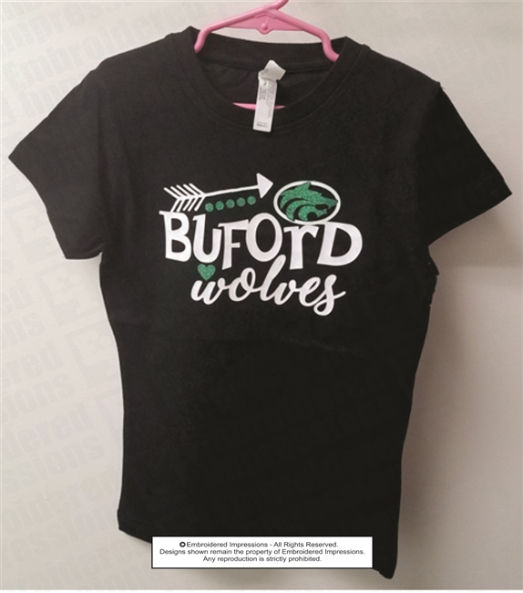 Buford Wolves Arrows Tee Shirt
