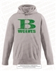 B Wolves Wicking Fleece Hoodie