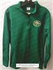 Buford Wolves Kelly Green 1/4 Zip Wolf Head