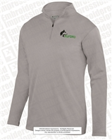 Buford Wolf Head 1/4 Zip Wicking Fleece Pullover