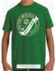 Green and Gold Banner Tee
