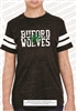 Buford Wolves Distressed Jersey Football Tee