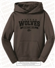 Just Do It Dr-fit Hooded Buford Wolves Sweatshirt