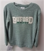 Distressed Bookends Buford Wolves Cozy Sweater