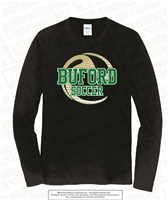 Buford Soccer Half Transparent Ball Long Sleeves
