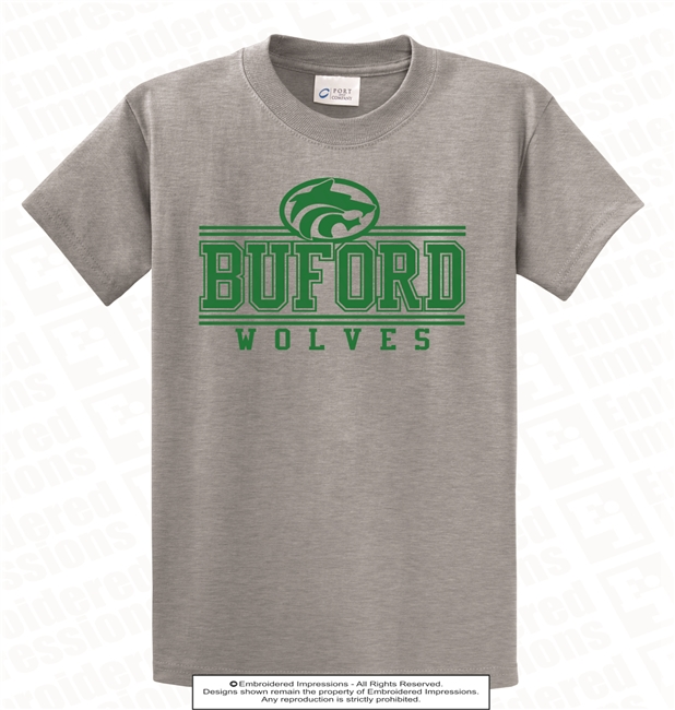 Buford Lines College Tee