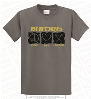 Buford Peace Love Lacrosse Tee