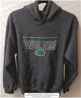 Custom Embroidered Buford Wolves Hoodie