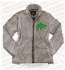 Buford Wolf-head Full Zip Sherpa Jacket