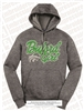 Embroidered Buford Wolf Girl Hoodie