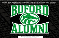 Buford Wolves Alumni Sticker