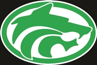 Standard Buford Wolf Head Logo Sticker