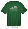 Buford Wolves Outline Glaze Dri-fit Tee