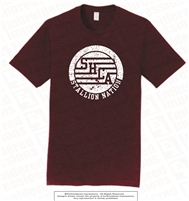 Stallions Nation Tee in Athletic Maroon