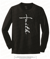 Faith Cotton Long Sleeves in Black