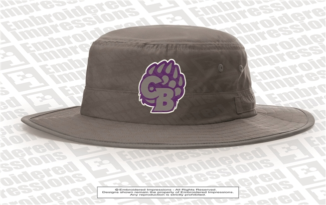 Cherokee Bluff Bears Logo Wide Brim Hat