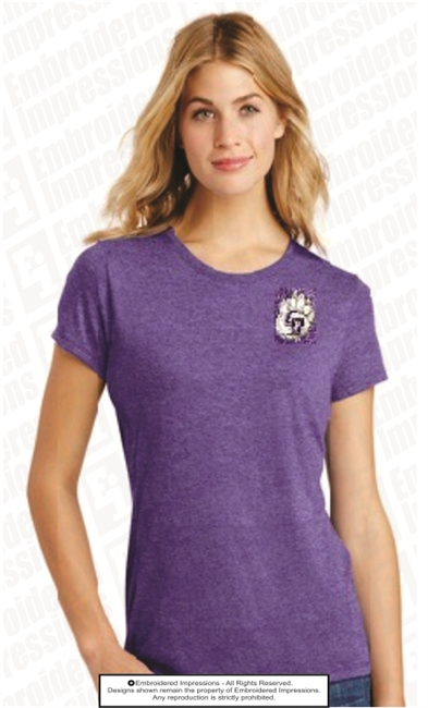 Cherokee Bluff Embroidered Bear Paw Tee