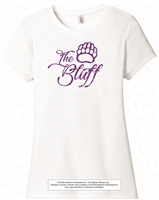The Bluff Script Glitter Tee