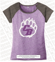 Cherokee Bluff Ladies Bear Paw Heather Tee